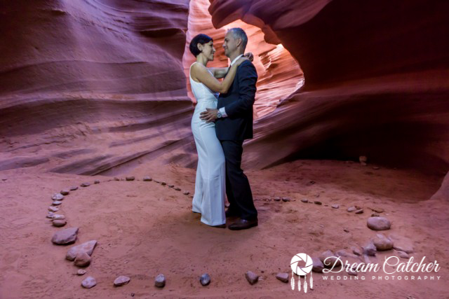 Upper Antelope Canyon Wedding Location