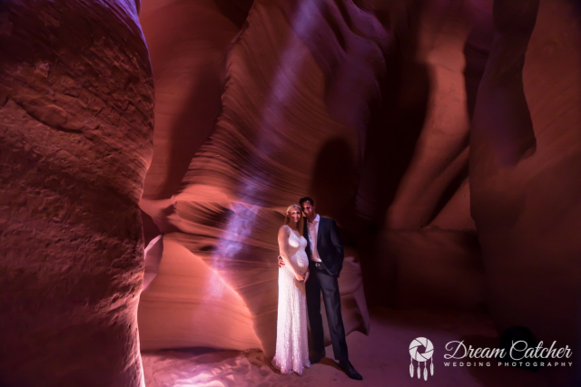 Canyon X Wedding Location