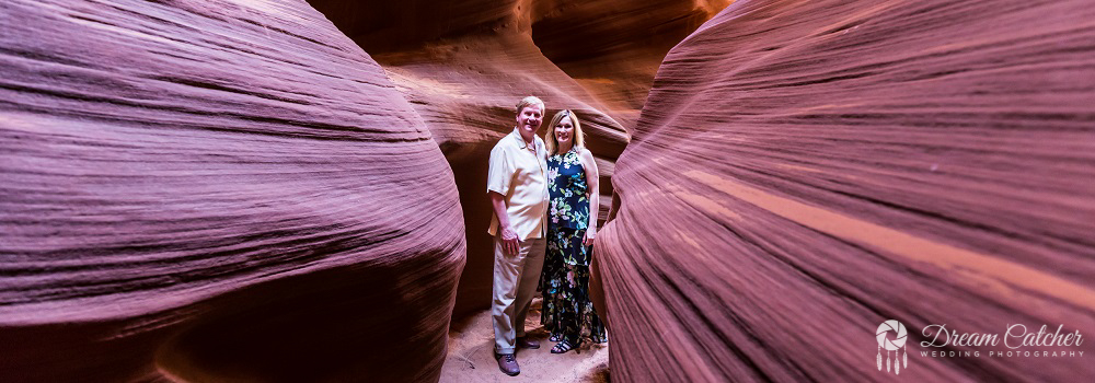 Secret Slot Canyon Wedding