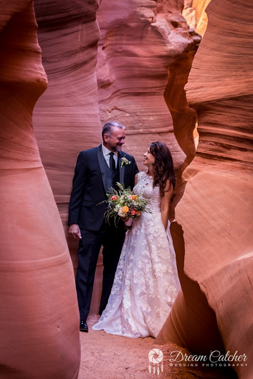 Secret Slot Canyon Wedding (1) rs