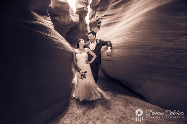 Antelope Slot Canyon Wedding